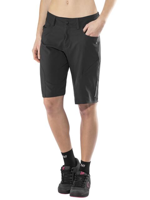 Cube Square Active Baggy Shorts Damen black